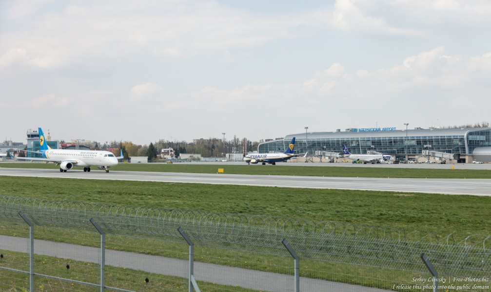 Lviv airport photographed in April 2019 by Serhiy Lvivsky, picture 10