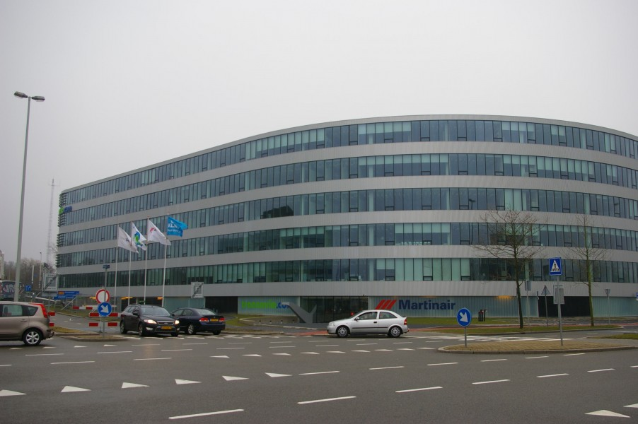Martinair and Transavia offices Schiphol-Oost