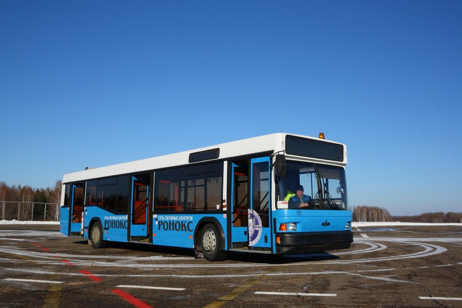 MAZ-103 airport bus in Tomsk Russia