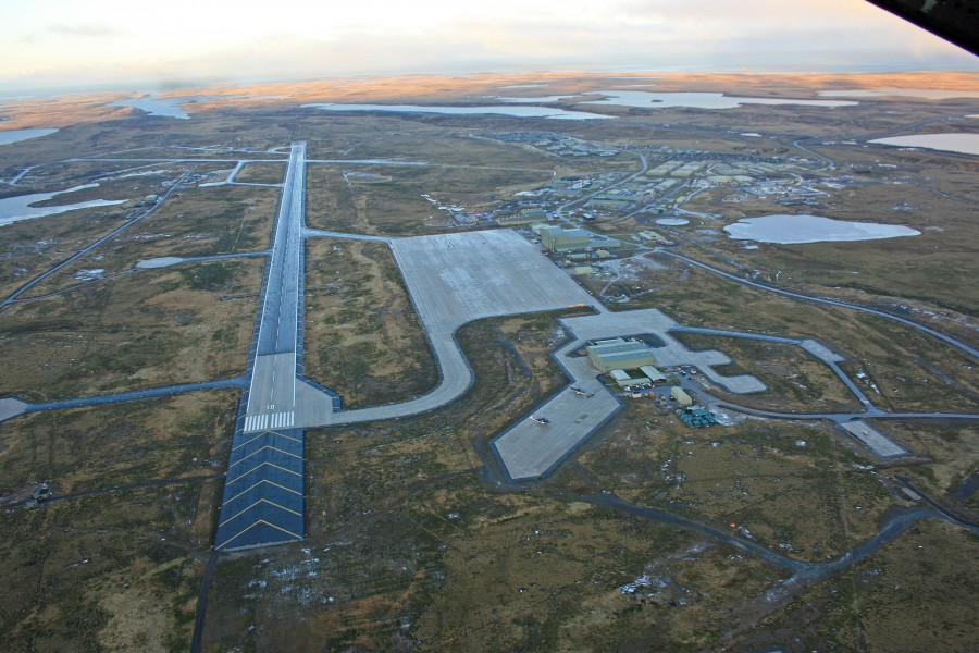 Mount Pleasant Airport - Donald Morrison