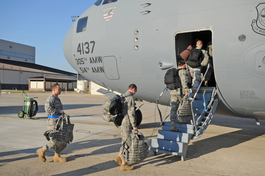 US Air Force 100114-F-4613R-125 JB McGuire Airmen provide earthquake relief