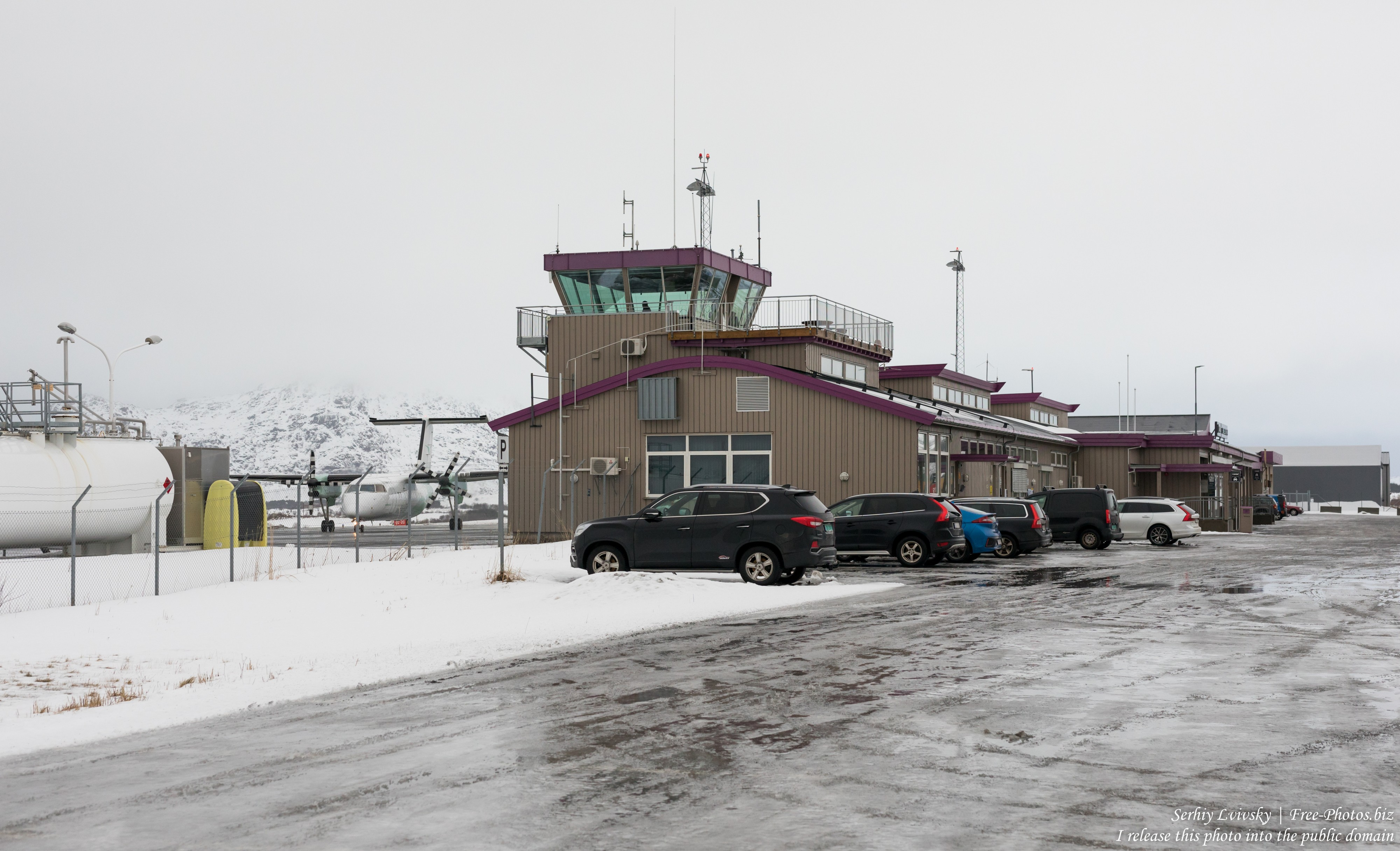 Leknes airport, Norway, in February 2020, by Serhiy Lvivsky, picture 2