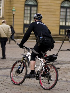 Danish bicycle police 2