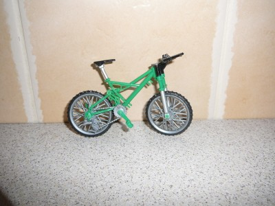 Model of bicycle