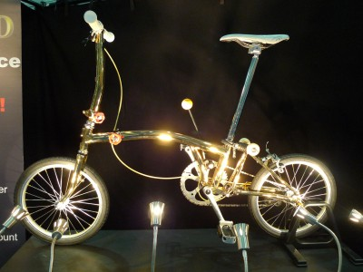 Modified-gold-plated-brompton-bicycle-bling