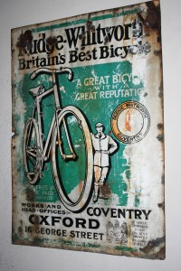 Rudge Whitworth Bicycle advert Coventry Transport Museum