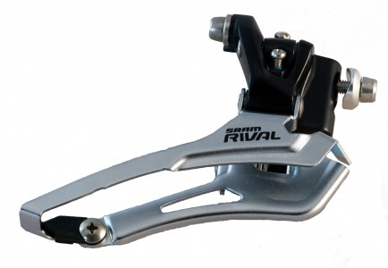 SRAM Rival front derailleur - sideview