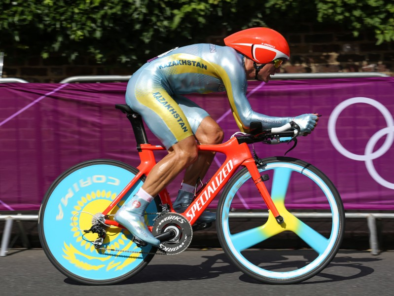 Alexander Vinokourov 2, London 2012 Time Trial - Aug 2012