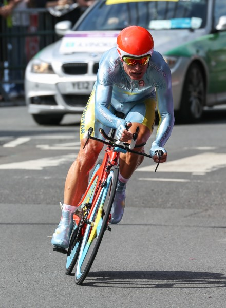 Alexander Vinokourov, London 2012 Time Trial - Aug 2012
