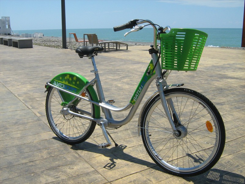 BatumVelo on the seashore