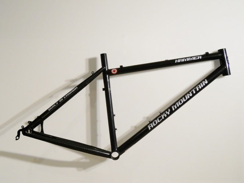 Bicycle frame mtb hardtail