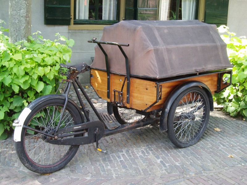 Bicycle in Zuiderzeemuseum