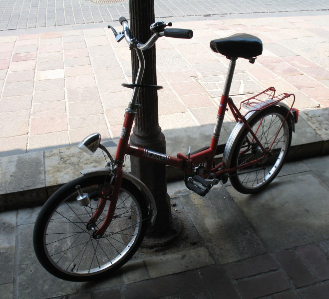 Romet Wigry 3 bicycle in Kraków (1)