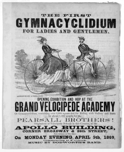 The first gymnacyclidium for ladies and gentlemen