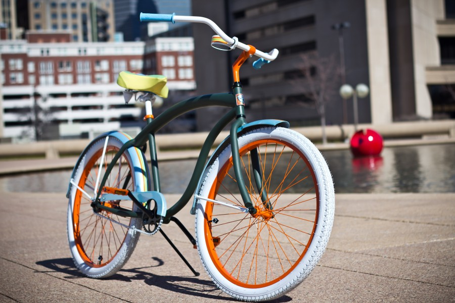 Villy Custom Luxury Fashion Bicycle, Dallas Hall