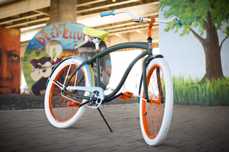 Villy Custom Luxury Fashion Bicycle, Deep Ellum