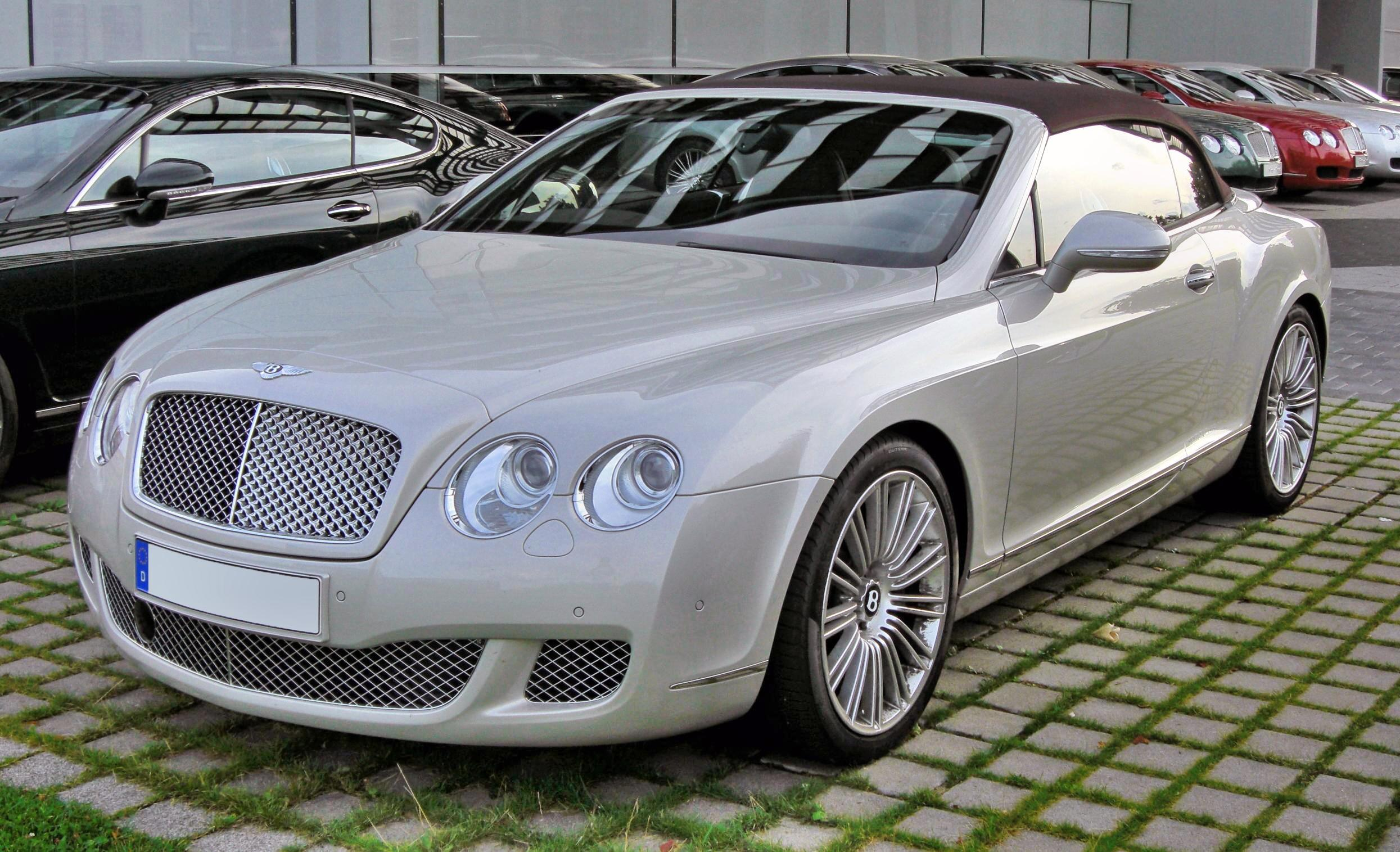 Bentley Continental GTC Speed 20090720 front-1