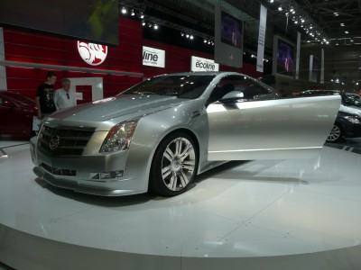 2008 Cadillac CTS coupe (concept)
