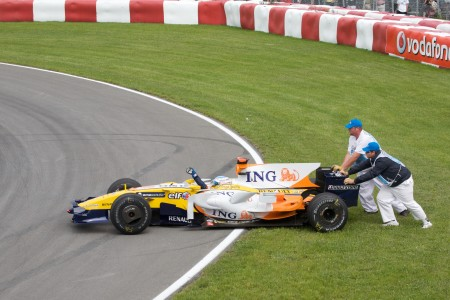 Alonso at Canada 2008