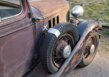 Chevrolet Master Special Eagle 1933 - Z16725 - spare