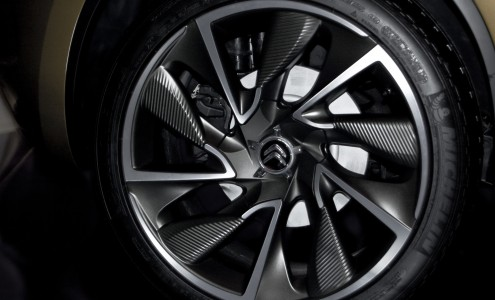 Citroën DS High Rider wheel