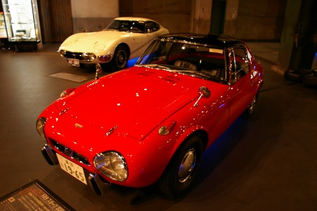 Toyota Sports800 and Toyota 2000GT at MEGAWEB 002