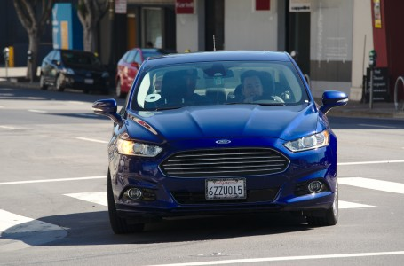 Uber Ford Fusion, second generation