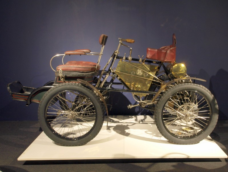 1900 Dyon-Bouton Quadricycle photo 2