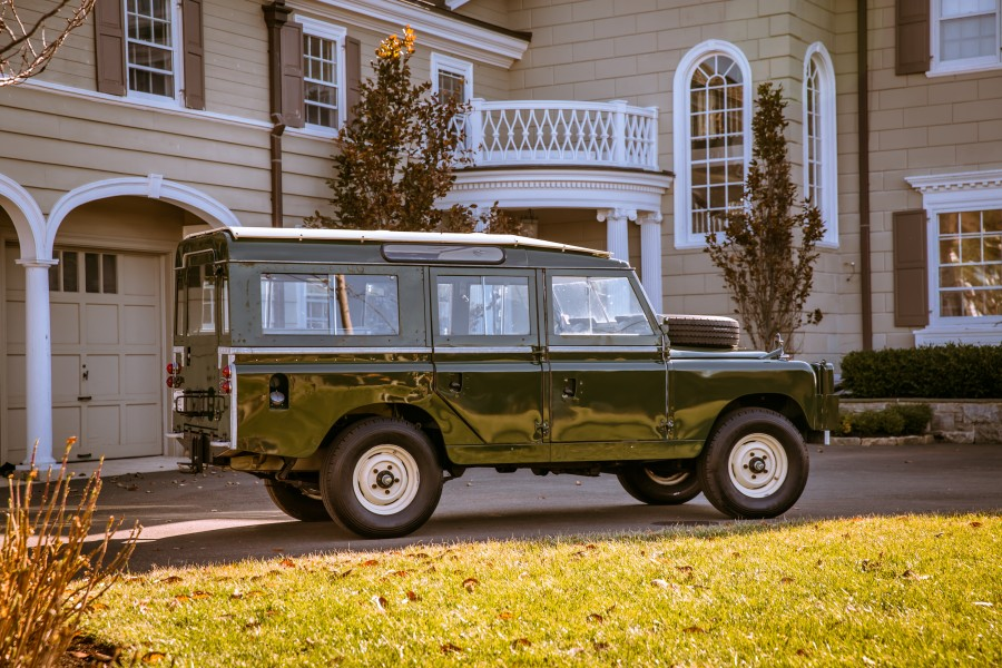 1959 Land Rover Series II Model 109 004