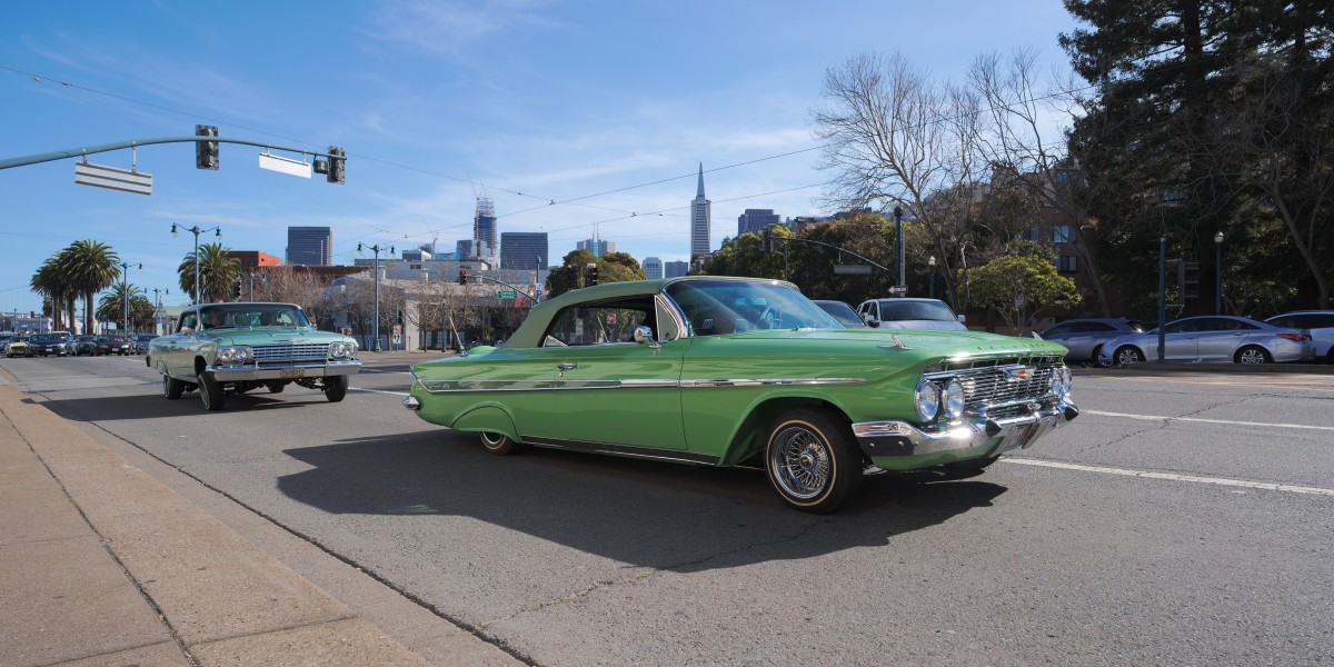 1961 Chevrolet Impala convertible in San Francisco
