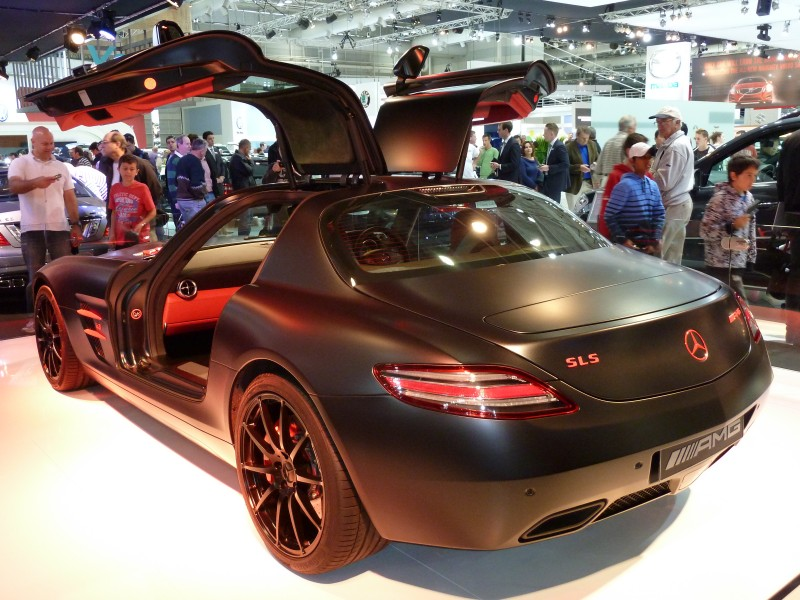 2010 Mercedes-Benz SLS AMG (C197) Blackbird coupe (2010-10-16) 04
