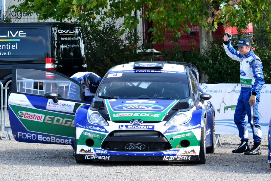 2012 10 05 Rallye France, Parc assistance Colmar, Petter Solberg