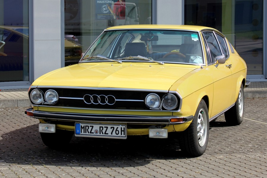 Audi 100 C1 Coupé, Bj. 1976 (2017-06-11 Sp)