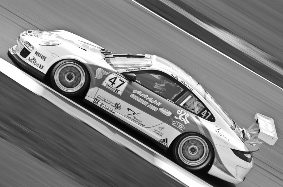 Up Hill Climb - Oman Air Redline Racing Porsche 997 GT3 Cup