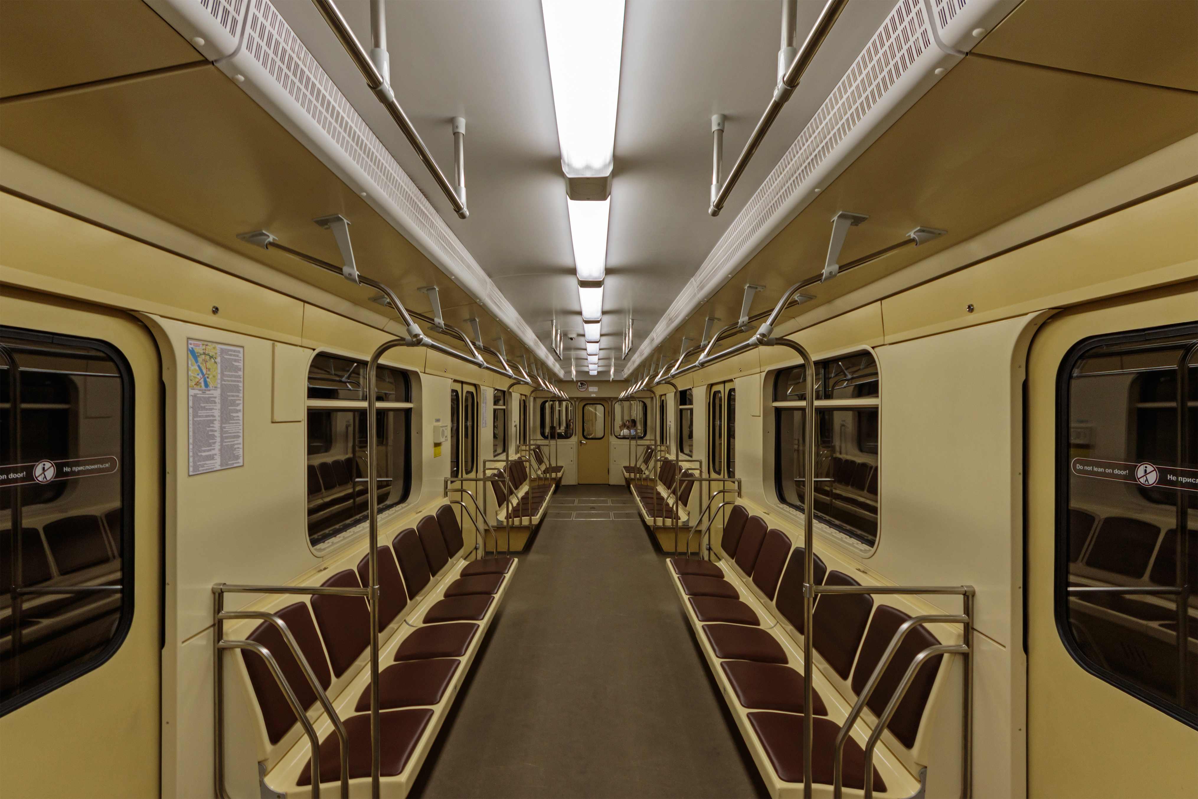 Novosibirsk Metro train interior 07-2016