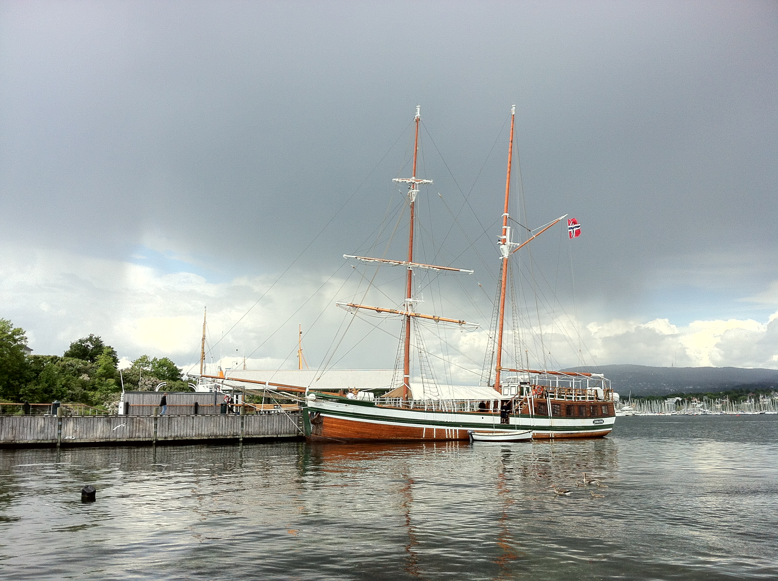 Johanna in Oslo Harbour