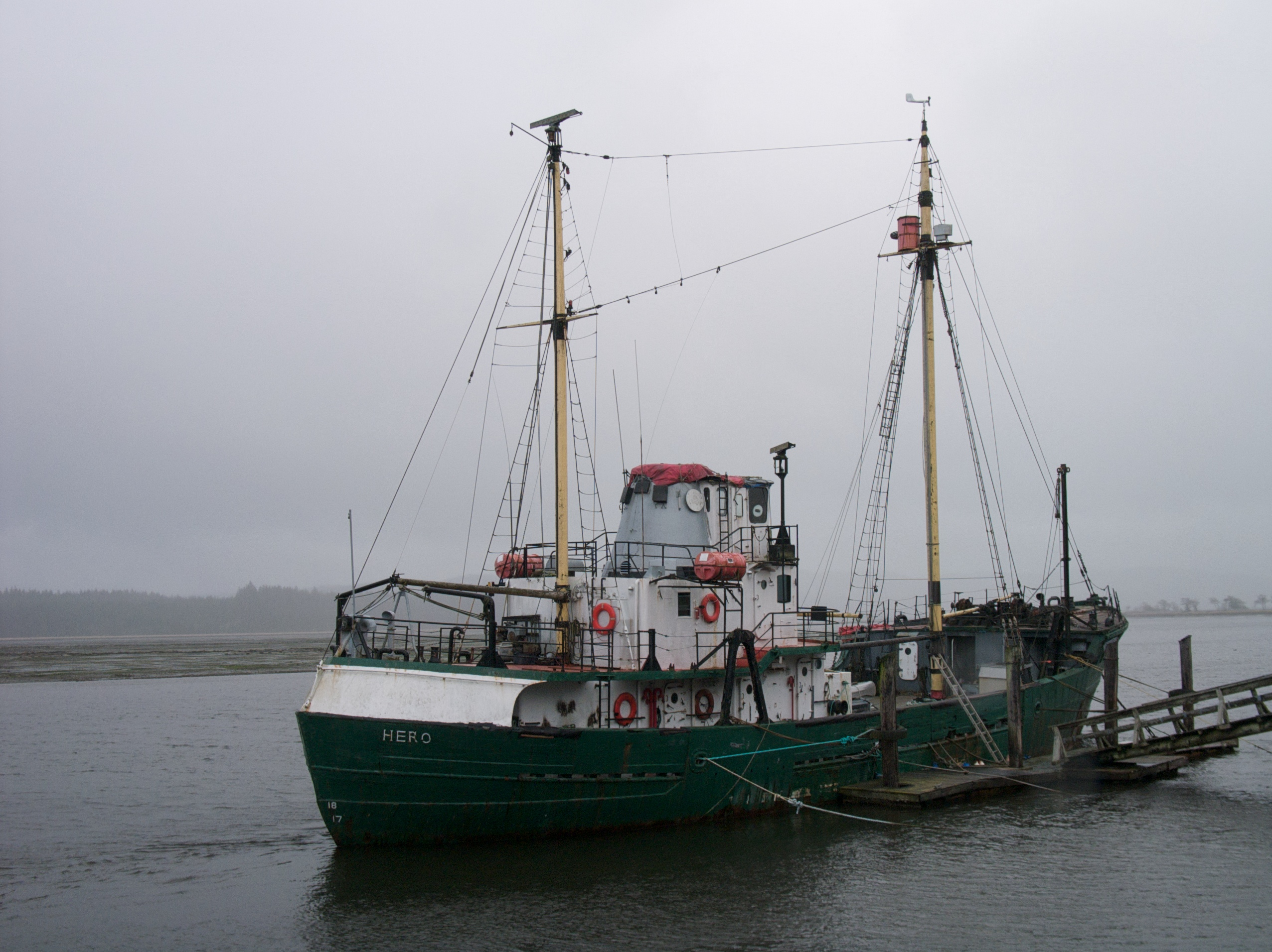 MV Hero -- Arctic research vessel