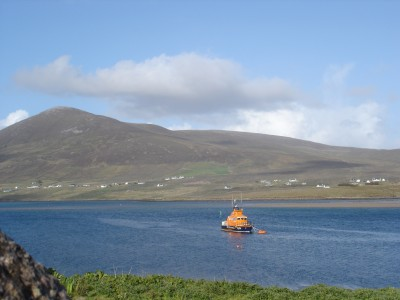 Achill Sound tugboat