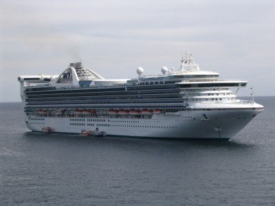 Golden Princess tendering in Cabo San Lucas