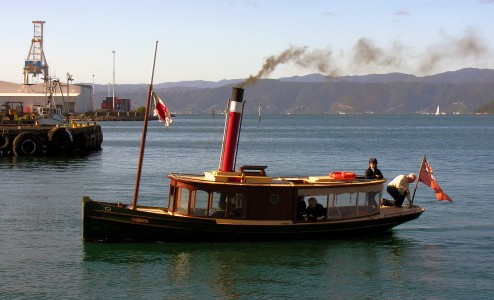 Steam launch 'Norma', Wellington NZ