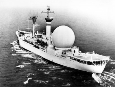USNS Kingsport Satellite Communications Ship