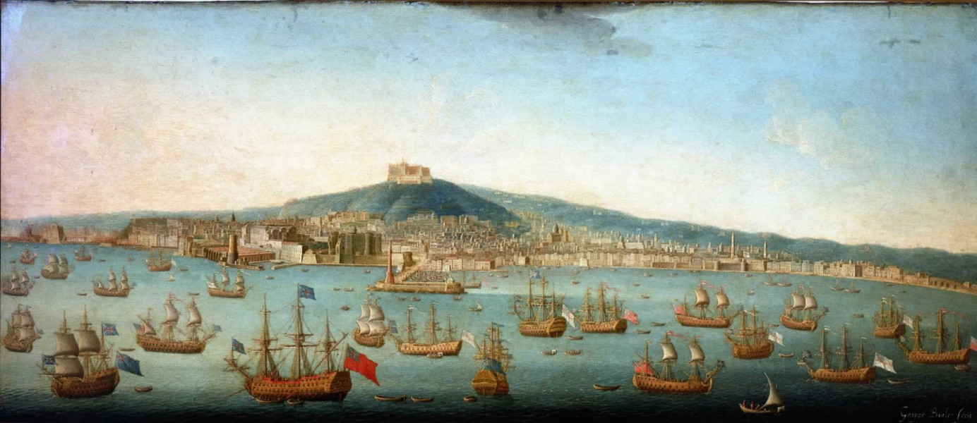 Admiral Byng's Fleet at Naples