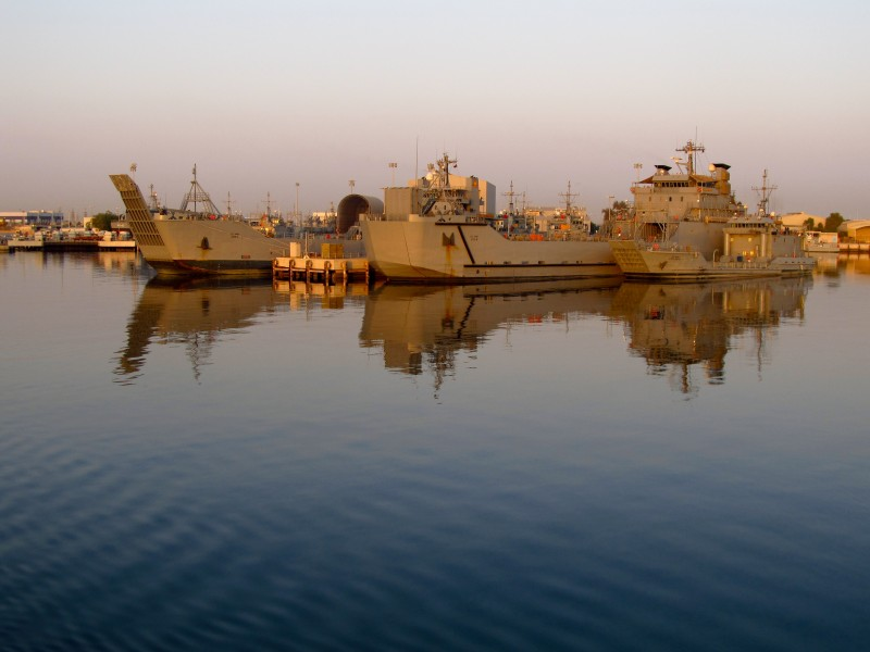 Army's Persian Gulf Watercraft fleet
