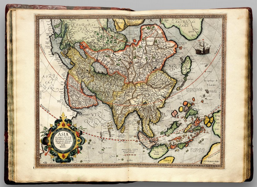 Atlas Cosmographicae (Mercator) 039
