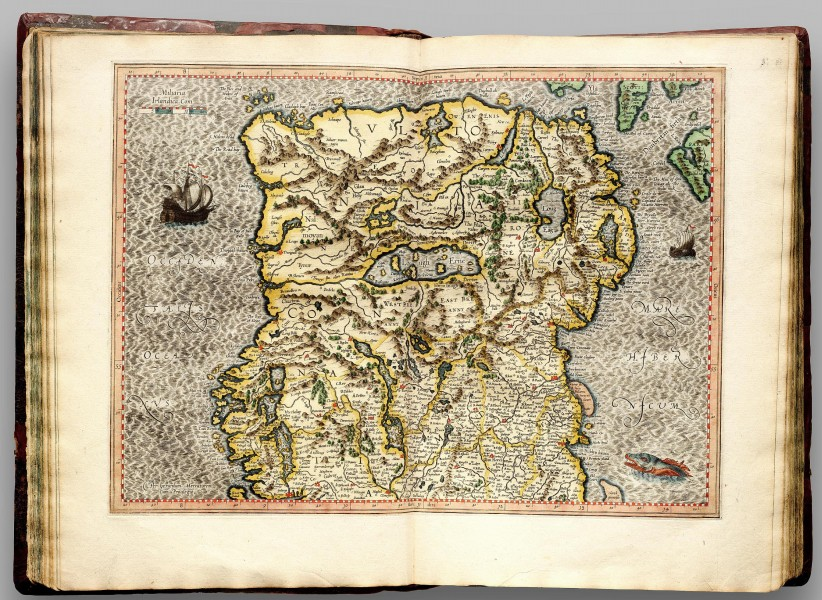 Atlas Cosmographicae (Mercator) 057