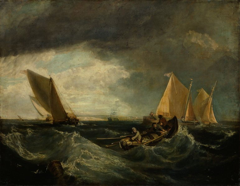 Augustus Wall Callcott - Sheerness and the Isle of Sheppey (after J.M.W. Turner) - Google Art Project