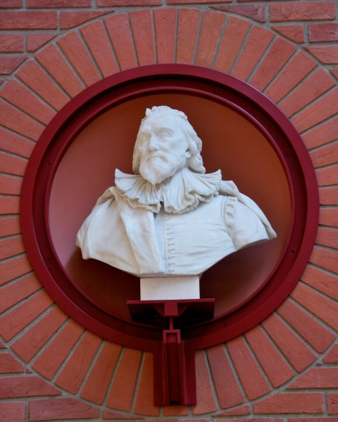 Bust of Robert Cotton, British Library