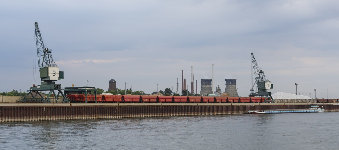 Cologne Germany Godorf-Harbour-Bulk-Terminal-01