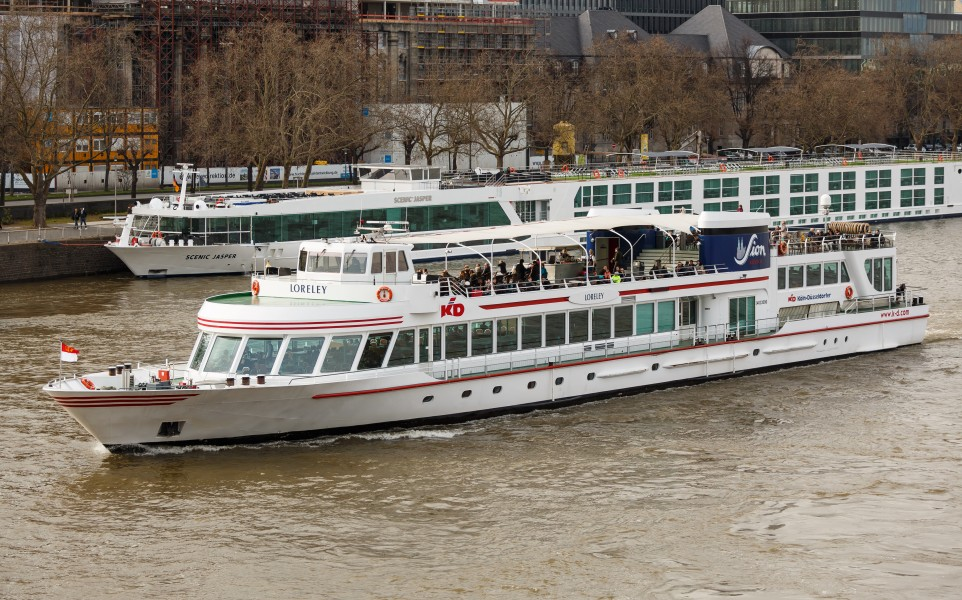 Cologne Germany Ship-Loreley-01
