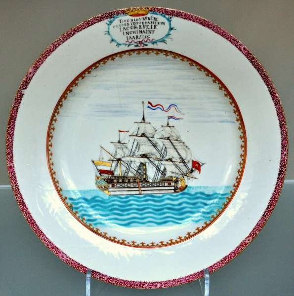 Dutch East India Company plate VA C376-1926